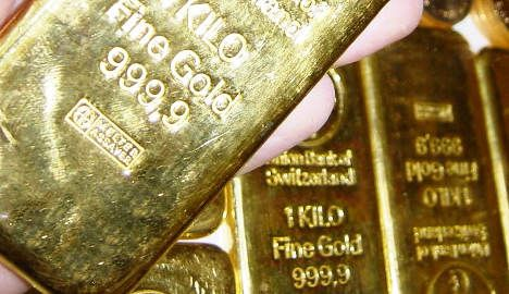 Central bank posts gains on high gold prices