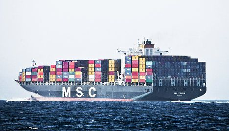 Swiss-Italian shipping giant to partner with rival