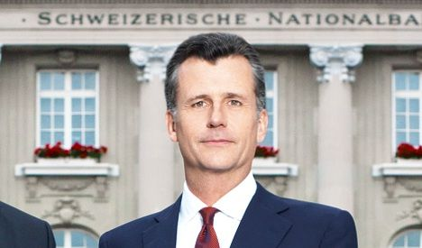 Ex Swiss bank chief 'to get 12 months pay'