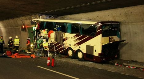 Swiss bus crash report due this month