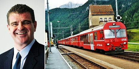 SVP politician quits to go back on the rails