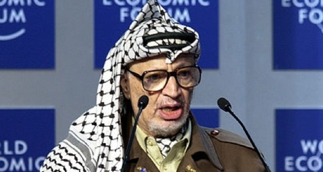 Swiss to dig up Arafat remains in West Bank