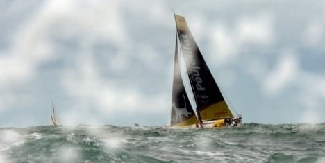 Swiss sailor takes lead in round-the-world race