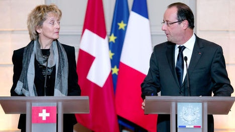 French 'double tax' decision angers Swiss