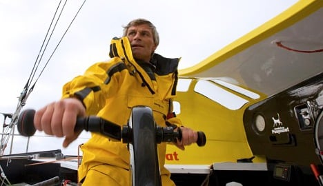 Swiss sailor disqualified in round-the-world race