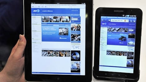 Smartphone and tablet use soars in Switzerland