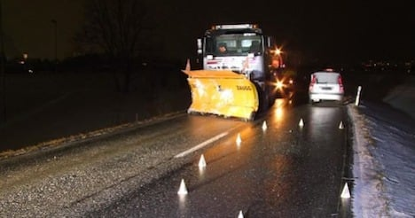 Snow plough operator nabbed for drunk driving