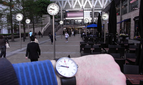 Swiss watch industry exports hit new high