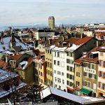 View of the city from the highest point in Lausanne.Photo: Sarah Decorvet