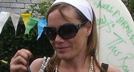 UK socialite detained in Zurich for 'killer' shoes