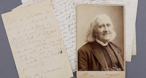 Liszt letters fetch record prices at Geneva auction