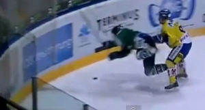 Hockey player cleared over paralyzing hit