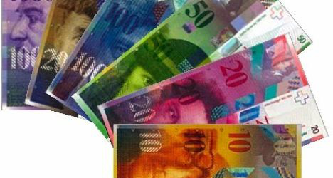 Swiss salaries show real growth in 2012