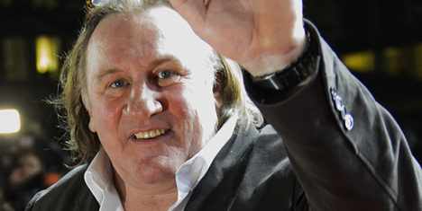 Lucerne orchestra axes concert with Depardieu