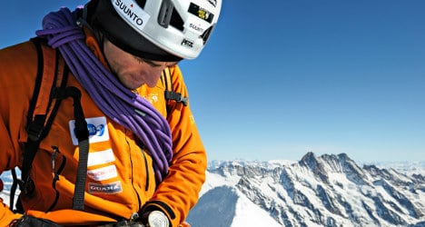 Climber Steck admits he was afraid for his life
