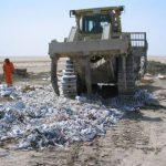 A destruction event in Dubai (2005).Photo: Federation of the Swiss Watch Industry (FH)