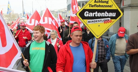 Unions seek higher pay in Labour Day marches