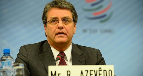 Brazilian diplomat tipped to head WTO: sources