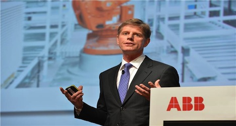 ABB Chief Exec quits 'on personal grounds'