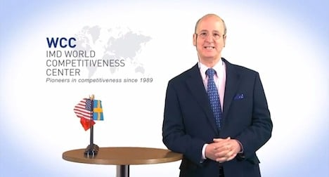 IMD ranks US and Swiss tops for competitiveness