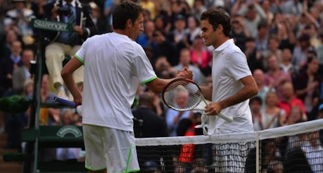 Federer eliminated from Wimbledon by outsider