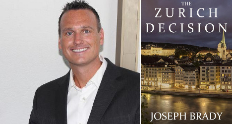 US writer sets thriller in Zurich - then moves there