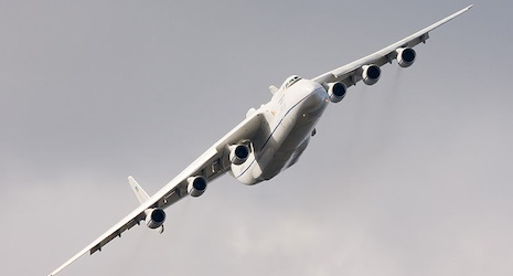 World's largest plane heads to Basel airport