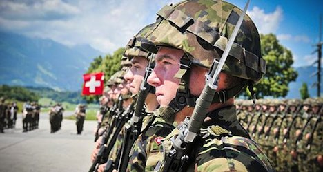Swiss soldier fined for 'humiliating' hazing