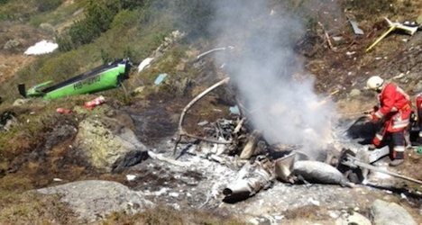 Swiss helicopter crashes leave eight people dead