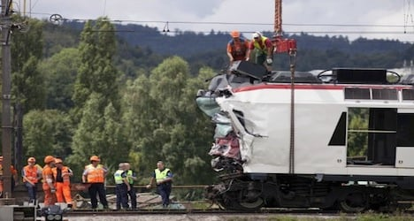 No passengers trapped in Swiss train wreck: police