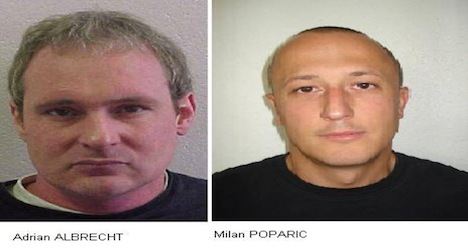 Two inmates on the run from Vaud prison
