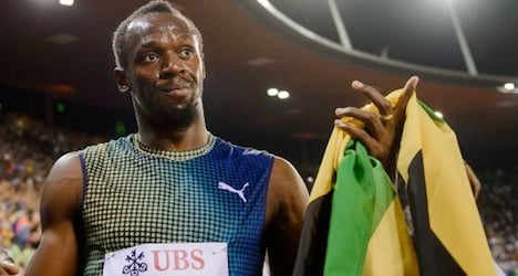 Bolt surges to victory at Zurich track meet