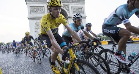 Tests show no doping in 2013 Tour de France
