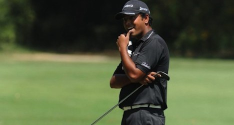 Indian golfer leads Masters in Swiss Alps