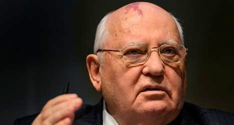 Gorbachev urges US-Russia deal on Syria
