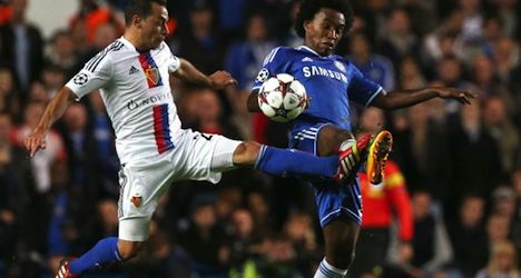 Basel shocks Chelsea in Champions League play
