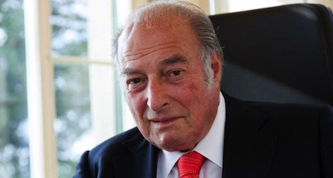Late Marc Rich's Swiss mansions for sale