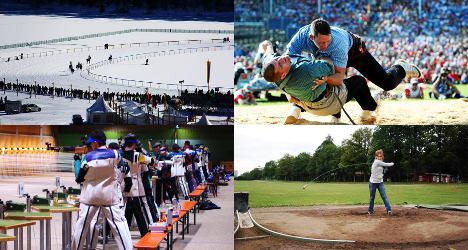 Six of the weirdest Swiss sporting traditions