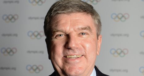 New IOC chief moves into Lausanne office