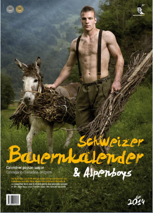 In pictures: Shock! Farmers in underpants are models!