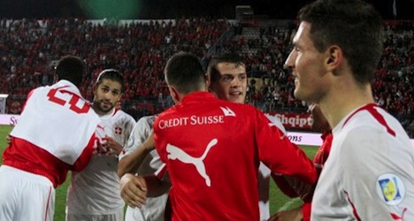 Swiss qualify for World Cup with Albania victory