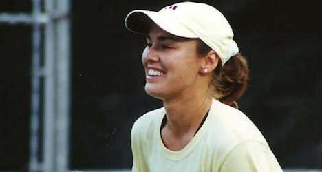 Hingis questioned over husband's assault claims