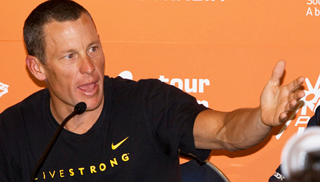 IOC receives Armstrong's tarnished bronze medal