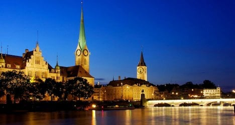 Zurich named among top ten cities to visit in 2014