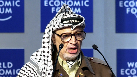 Palestinians get Swiss results on Arafat remains