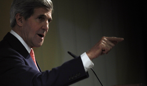 US set on preventing Iran nuclear weapon: Kerry