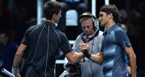 Federer loses again to Djokovic at world finals