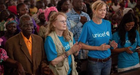 Mia Farrow urges Central African Republic action