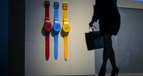 Tiffany & Co to pay Swatch over contract tiff