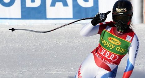 Gut collects fourth win in Lake Louise super-G